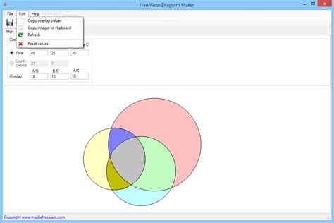 5 circle venn diagram maker free venn diagram maker