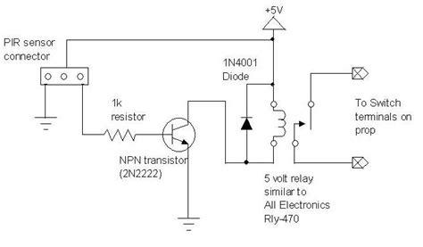 base resistor for 2n2222 tweaking4all nl spelen met een bewegingssensor pir sensor