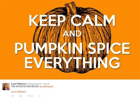 Pumpkin Spice Memes - twitter users ushered in fall with a fresh round of pumpkin spice photo photo 116552