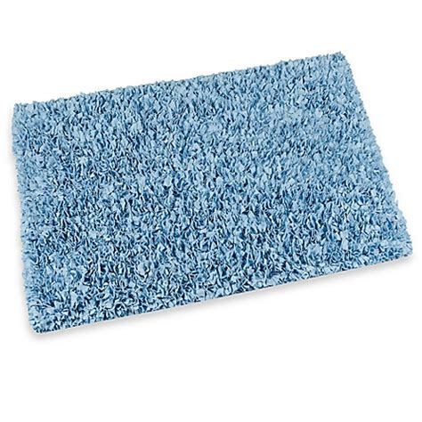 bed bath and beyond bathroom rugs raggy shaggy accent rug in light blue www buybuybaby com