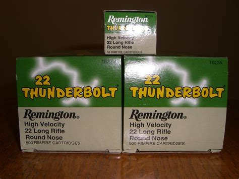 remington thunderbolt 22 ammo 22 lr 1000 rds 22lr remington thunderbolt ammo for sale at
