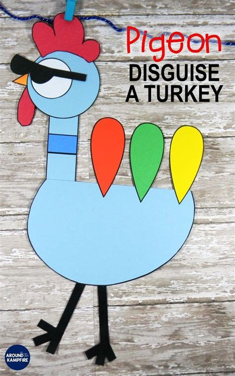 disguise a turkey project template 61099 best second grade images on