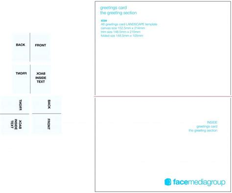 fold name card template fold place card template contemporary illustration