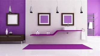 wallpaper design for home interiors purple interior design 1366x768 228215