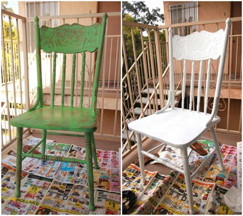 Painting Dining Chairs The Weekend At A Glance My Socal D