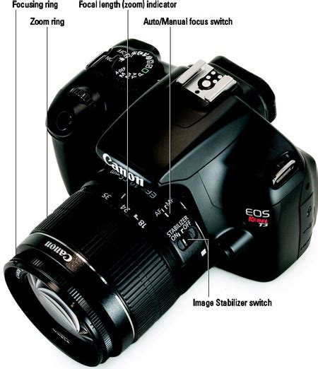 Canon Eos 1100d Manual shifting from autofocus to manual focus on your canon eos rebel t3 1100d dummies
