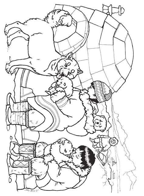 snow bear coloring page three snow bears husky pups coloring pinterest