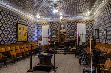 masonic lodges file nevadaville lodge room jpg wikimedia commons