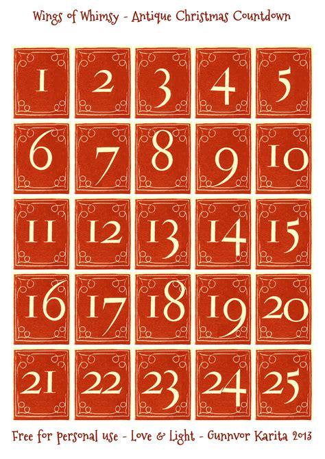 printable numbers christmas countdown numbers printable new calendar