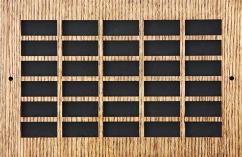 wood pattern enlarger decorative wood return grille