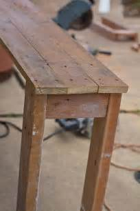 Diy Console Table Plans Diy Rustic Console Table Woodworking Projects Plans