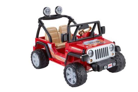 Walmart Power Wheels Jeep Fisher Price Power Wheels Jeep Wrangler Lava Black