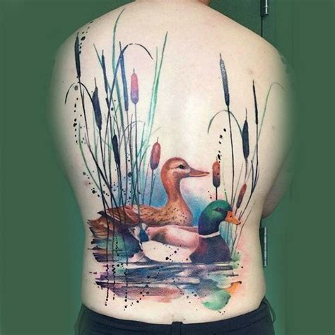 pond tattoo designs best 25 duck tattoos ideas on animal