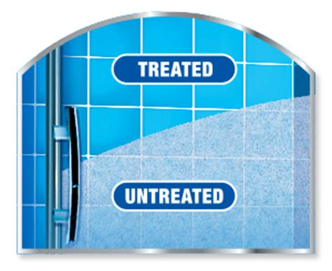 x 174 shower door water repellent x