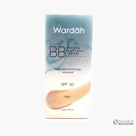 Bedak Wardah Grosir detil produk wardah everyday bb light 30 ml