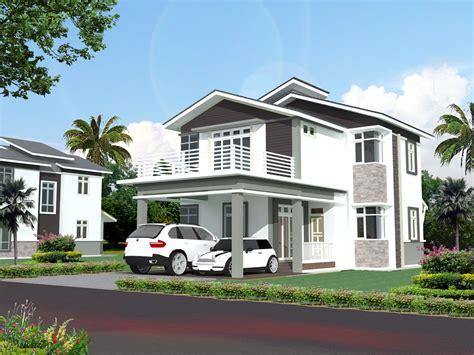 desain rumah modern modern design home