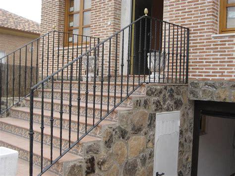 barandilla escalera exterior pasamanos de escaleras exteriores exteriores de acero