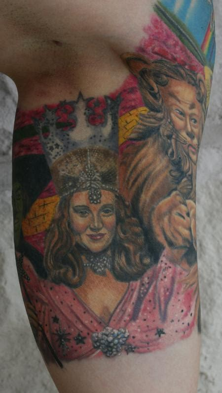 glinda the good wizard of oz by larry brogan tattoos