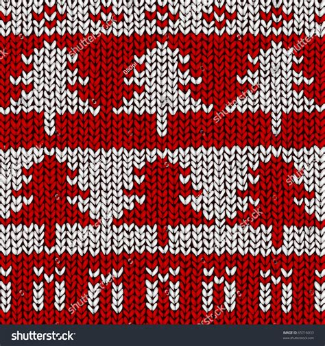 pattern for xmas jumper christmas tree jumper pattern vector illustration