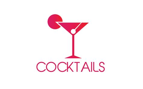 cocktail logo beverages logo by bigbase wrapbootstrap