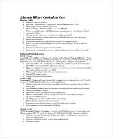 Clinical Dietitian Resume dietitian resume template 6 free word pdf documents