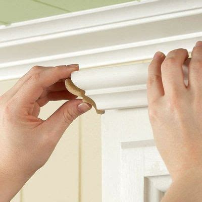 how to install molding on kitchen cabinets install crown moulding on your cabinet or my bookcase
