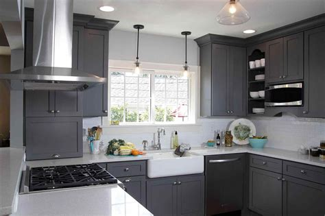 black and brown kitchen cabinets from hgtv paint small kitchen makeovers colors for small