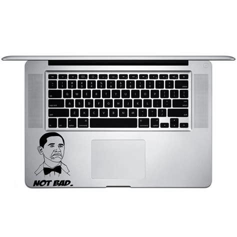Keyboard Obamba not bad obama meme vinyl sticker laptop keyboard inside corner iphone cell decal