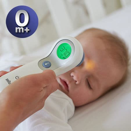 Thermometer Forehead no touch forehead ntf3000 braun fever thermometers