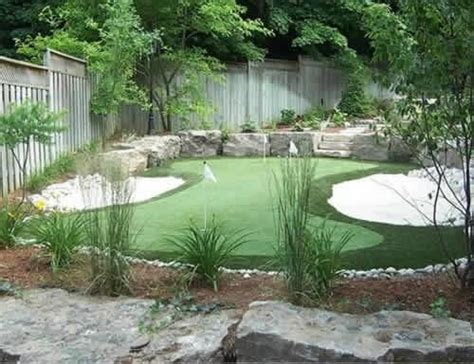 home golf greens home ideas