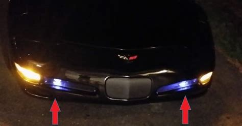 c5 chevy corvette 1997 2004 50w 880 led bulbs fog driving