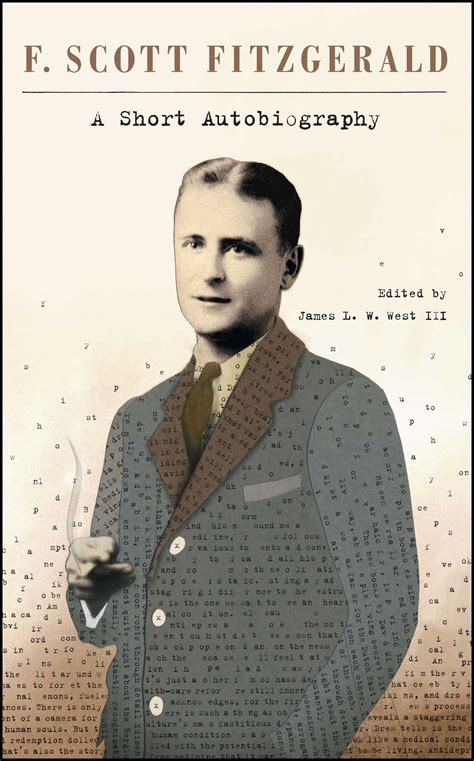 biography book publishers a short autobiography book by f scott fitzgerald james