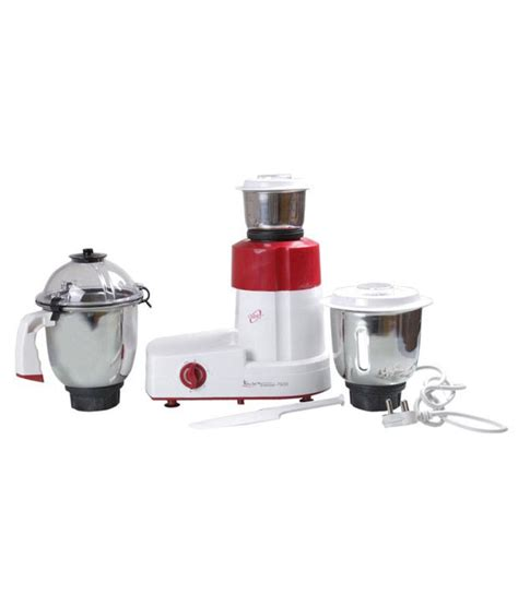 Orpat Kitchen Diamond Mixer Grinder Red Price in India