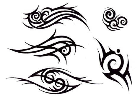 Fiery Tattoos On Pinterest Tribal Tattoos Tribal Dragon Tribal Flash