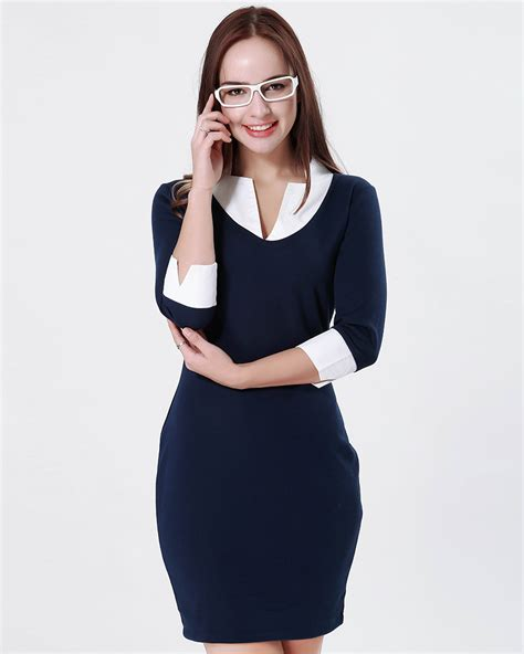 new fashion casual dress slim summer knitted