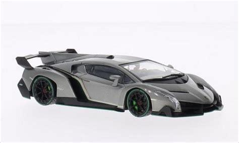 Kyosho Diecast Lamborghini Veneno 1 43 Scale Grey 1 lamborghini veneno metallic gray green kyosho diecast model car 1 43 buy sell diecast car on