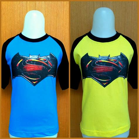 Kaos Superman Batman Big Size kaos anak karakter kiddos superman batman grosir baju anak branded baju anak muslim baju