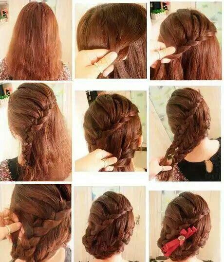 how to make easy and beautiful hair styles peinados f 225 ciles con trenzas tutorial las cosas de krystel