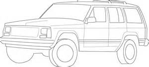 How To Draw A Jeep Free Coloring Pages Of How To Drawing Jeep
