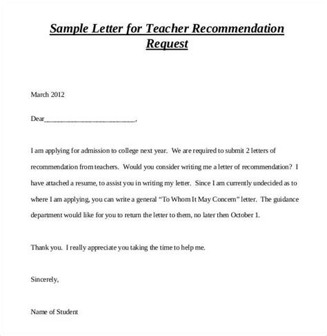 letters of recommendation for 28 free sle