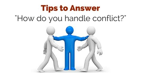 how you handle conflict
