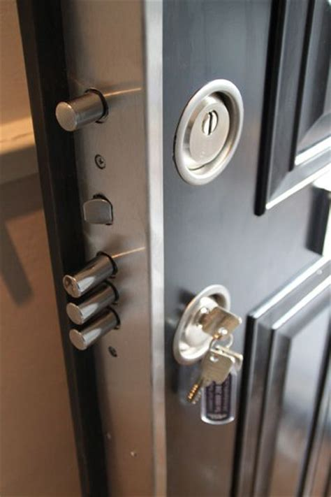 Exterior Door Security Hardware Best 25 Security Door Ideas On Security Gates Grill Door Design And Steel Security