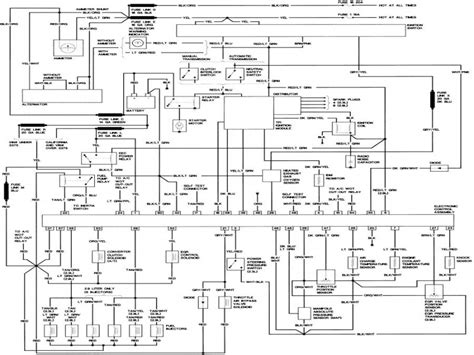 ford   wiring diagram haynes wiring forums