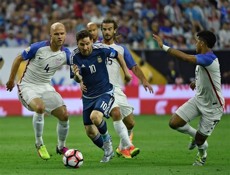 argentina today match result usa argentina highlights score goals at copa america