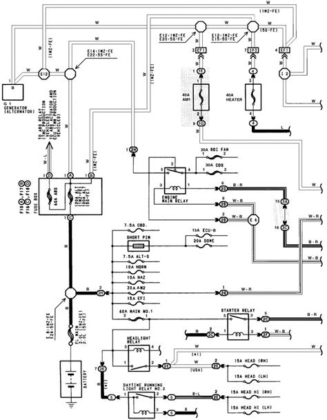 89 camry fan relay wiring diagram get free image about