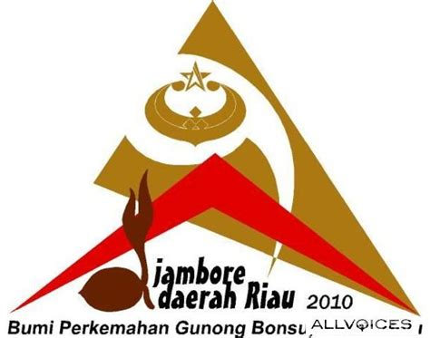 Kancing Baju Jas Logo Tunas Pramuka logo dan maskot jambore daerah riau 2010 kedai atribut perlengkapan pramuka