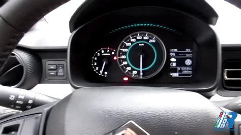 suzuki interni prova interni suzuki ignis test drive