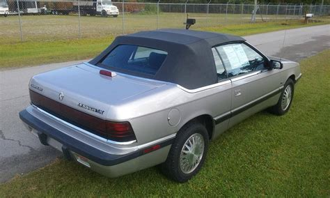 1992 Chrysler Lebaron by 1992 Chrysler Lebaron Lx Convertible For Sale 1855586
