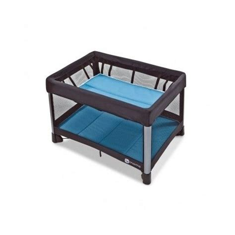 4 Moms Breeze Travel Playpen Lightweight Play Yard Mini Portable Mini Crib