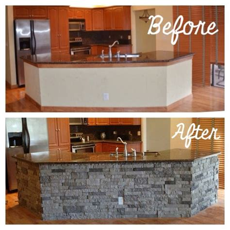 stone kitchen island kitchen reno airstone lowes kitchenisland home sweet